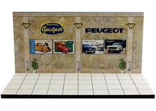 Diorama présentoir Peugeot Museum/Showroom - 1/43ème - #MR43U102