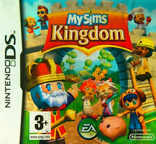 MySims Kingdom (Nintendo DS, 2008) COMPLETE WITH MANUAL UK PAL NEAR MINT