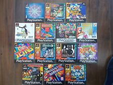 Job lot of 14 sony playstation instructions only-no games
