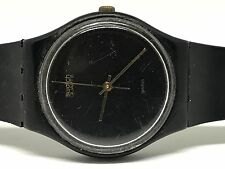 Rare Vintage 1984 Swatch Watch Black Magic GB101RE reloj, Orologio, Armbanduhr,