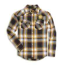 SCRAMBLER DUCATI CHECKERED SHIRT LARGE