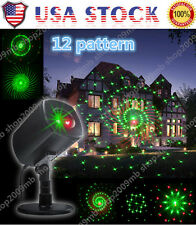 Outdoor R&G Projector Moving Laser Lamp Star Landscape Garden Xmas Stage Light