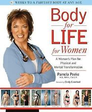 BODY FOR LIFE for Women by Pamela Peeke FREE SHIPPING Hardcover *Transformation*