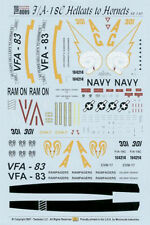 Twobobs 48140 1/48 F/A-18C Hornet, VFA-83 Hellcats to Hornets