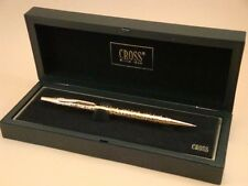 CROSS - VeRy RaRe - Century Jewelers Ballpoint Pen - DEEP CUT GOLD FLORAL - NEW