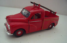 Modello di Londra Pompieri Morris Minor PICK UP-DIE CAST SAICO