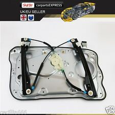 99-08 SKODA FABIA 5 DOOR WINDOW REGULATOR EU PASSENGER SIDE WITH PLATE