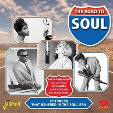 ROAD TO SOUL 2 CD NEU TINA TURNER/CHUCK JACKSON/JACKIE WILSON/MARY WELLS