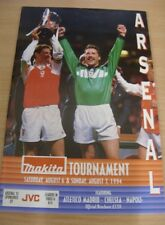 06/08/1994 a Arsenale: MAKITA TOURNAMENT-semi-finals - NAPOLI V Chelsea & arse