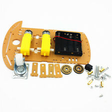 2WD Smart Motor Robot Car Chassis Kit/Speed Encoder Battery Case for Arduino