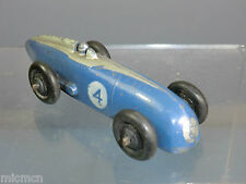 "VINTAGE DINKY TOYS  MODEL  No.23a  RACING CAR  ""BLUE WITH SILVER FLASH VERSION"""