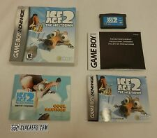 ICE AGE 2: The Meltdown (Nintendo Game Boy Advance 2006) COMPLETE In Box! GBA
