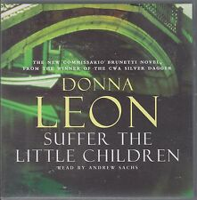SUFFER THE LITTLE CHILDREN - Donna Leon. Read by Andrew Sachs. Abridged (3xCD SE