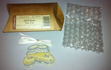 Longaberger 2003 Baby Tie On NEW in Original Package Free Ship & Tracking Number