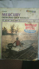 Mercury Outboard Shop Manual 3.5 - 40HP 1972 to 1987
