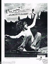 Publicité advertising 1996 Basket vetements Converse
