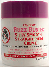 FANTASIA FRIZZ BUSTER SILKY SMOOTH STRAIGHTENING CREME ALCOHOL-FREE 6 OZ.