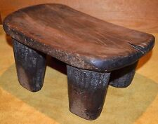 Antique African Senufo Tribe Hand Carved Wood Small Stool Ivory Coast, Africa