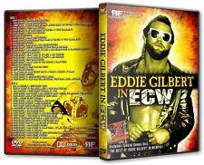 Best of Eddie Gilbert in ECW 2 DVD-r Set with BONUS DISC Extreme Wrestling