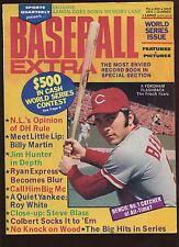 1973 Baseball EXtra Magazine With Johny Bench Cover EX