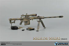 """ZY Toys 1/6 Camouflage Barrett Sniper Rifle M82A1 Model Fit 12"""" Action Figure"""