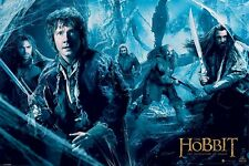 THE HOBBIT MOVIE POSTER ~ WEB 24x36 Desolation Of Smaug Bilbo Thorin Dwalin Kili