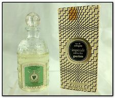 VTG 1967 NOS BEE BOTTLE GUERLAIN IMPERIALE EAU DE COLOGNE EXTRA DRY 4 oz w BOX
