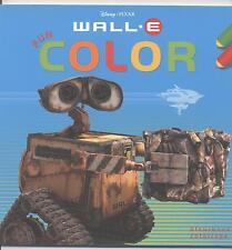 NEUF LIVRE DE COLORIAGE WALL E ROBOT DISNEY PIXAR LOISIR ENFANT ALBUM A COLORIER