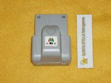 RUMBLE PAK + MEMORY CARD NINTENDO 64 N64 NUOVO VIBRAZIONE PACK COLORE GRIGIO