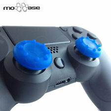 2x Blue PS4 Silicone Thumbstick Grips Thumb Caps Sony PS4 Analog Controller