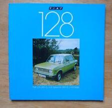 Fiat 128 gamme 1300 orig 1978 uk marketing ventes brochure