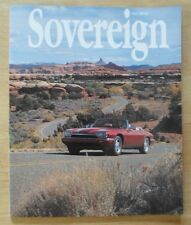 JAGUAR SOVEREIGN orig 1995 International Magazine Brochure - Edition 13