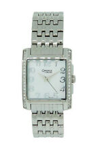 Caravelle by Bulova 43L138 Women's Square Mother of Pearl Analog Watch
