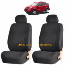BLACK ELEGANT AIRBAG COMPATIBLE FRONT LOWBACK SEAT COVER for PONTIAC GRAND PRIX