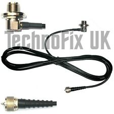 SO239 antenna mount base, 4m cable to PL259 plug, for aerials with PL259 fitting