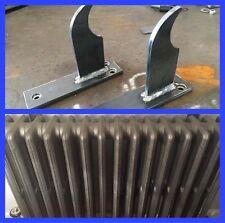 Fonte radiateur crochets x 2 pour 4 colonne radiateurs 410mm - 610mm haute