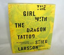 The Girl with the Dragon Tattoo Audio Book, Stieg Larsson, 13 CDs