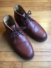 RED WING SHOES 595 Size 7 Traction Tred Chukka Work Boots Men's OR Women's