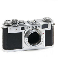 Nikon S2 rangefinder camera body