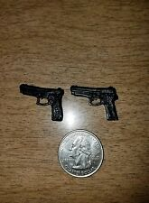 Marvel Legends Figma Neca Casted Dual Pistols For Custom Figures Handgun