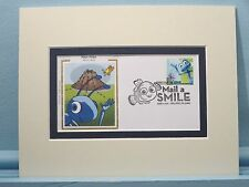 Walt Disney and Pixar Pictures - A Bug's Life & First Day Cover of its own stamp
