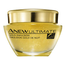 GEL Emulsion Creme de NUIT ULTIMATE 7S  anti-rides ANEW AVON NEUF