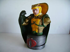 GI Joe Cobra the Enemy Serpentor Resin Mini Bust Palisades