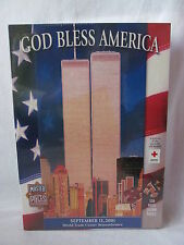 God Bless America World Trade Center Remebrance 9/11 550 piece  puzzle SEALED!