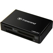 Transcend USB 3.0 Super Speed Multi-Card Reader for SD, SDHC UHS, SDXC, CF cards