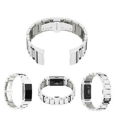 Replacement Stainless Steel Bracelt Wrist Strap Watch Band For Fitbit Charge 2