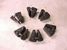 07 Yamaha XVS1300 XVS 1300 CT V Star Tourer rear back drive rubbers cushions