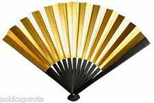 Japanese Iron Fan (Tessen) Sensu 24cm Gold Colored