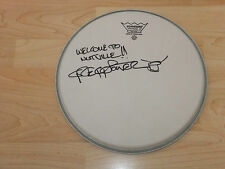 GREGG POTTER JOE WALSH SIGNED DRUMHEAD