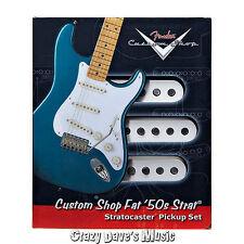 Fender Custom Shop Fat 50's Stratocaster Pickup Set Strat Bridge Middle Neck NEW
